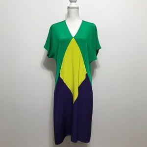 Zero + Maria Cornejo 100% Silk Dress